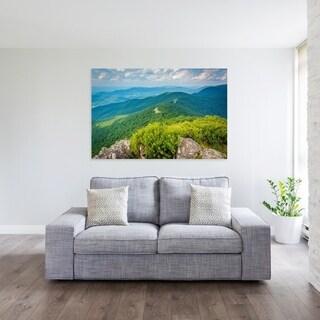 Noir Gallery Little Stony Man Cliffs in Shenandoah National Park Fine Art Photo Print