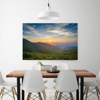 Noir Gallery Shenandoah National Park Mountains Sunset Fine Art Photo Print