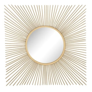 Studio 350 Metal Wall Mirror 40 inches wide, 40 inches high