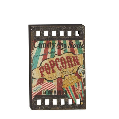 Carbon Loft Kiowa Popcorn Circus Wood Wall Panel