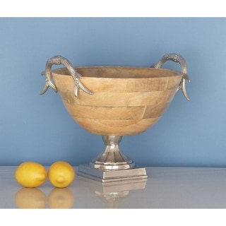 Traditional 12 x 14 Inch Trophy-Shaped Decorative Bowl by Studio 350