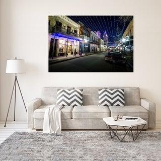 Noir Gallery Mobile, Alabama Dauphin Street at Night Fine Art Photo Print