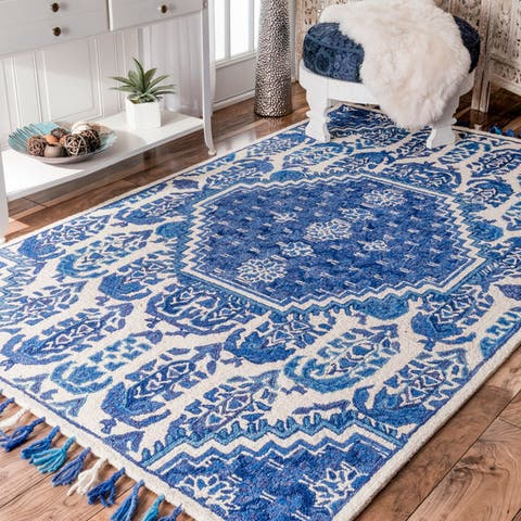 Blue Paisley Area Rugs Online At