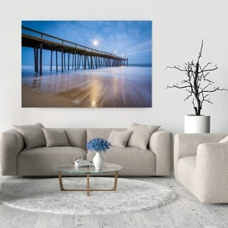 Noir Gallery Ocean City, Maryland Pier and Waves Fine Art Photo Print (4 options available)