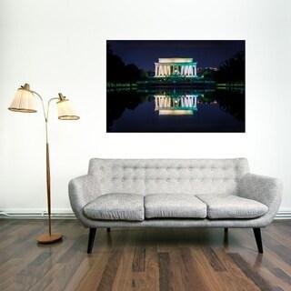 Noir Gallery Washington, DC Lincoln Memorial at Night Fine Art Photo Print