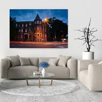 Noir Gallery Washington, DC Logan Circle at Night Fine Art Photo Print