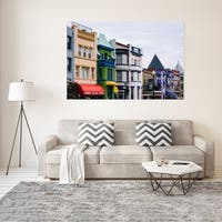 Noir Gallery Adams Morgan Colorful Buildings in Washington, DC Fine Art Photo Print