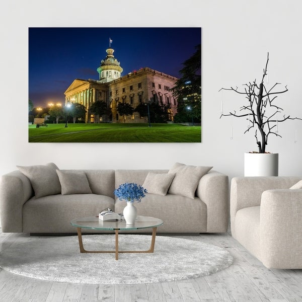 Noir Gallery Columbia, South Carolina State House Fine Art Photo Print