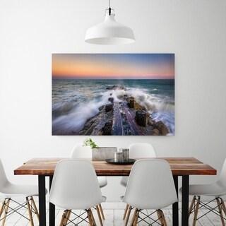 Noir Gallery Edisto Island, South Carolina Jetty Sunset Fine Art Photo Print