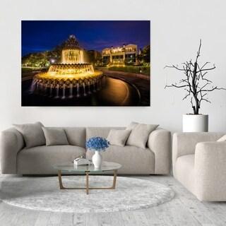 Noir Gallery Charleston, South Carolina Pineapple Fountain Fine Art Photo Print