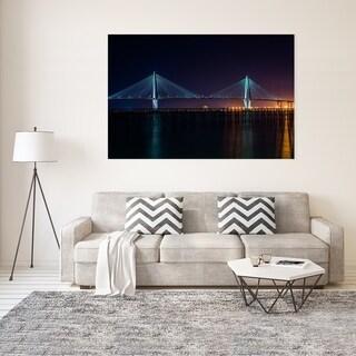 Noir Gallery Charleston, South Carolina Bridge at Night Fine Art Photo Print