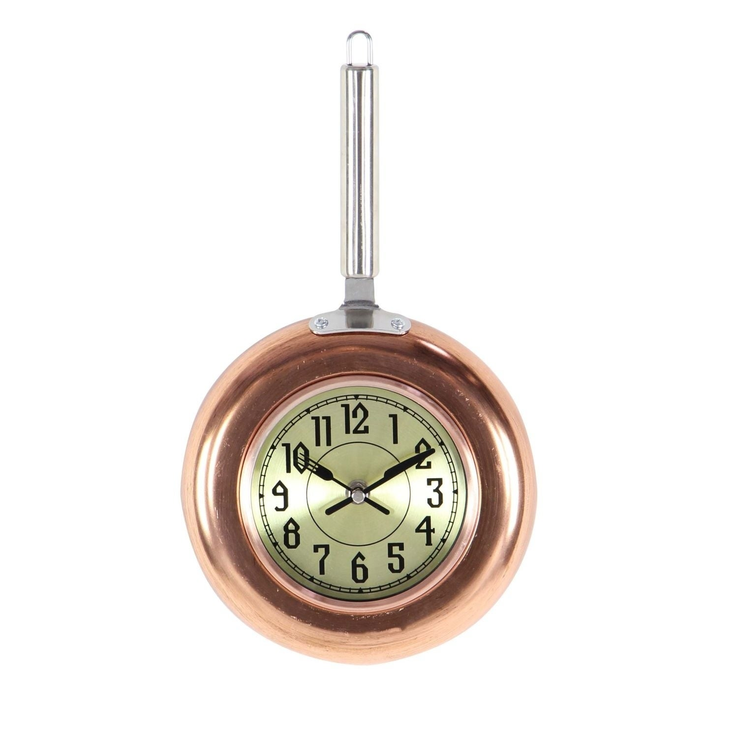 Studio 350 Metal Copper Wall Clock 8 inches wide, 14 inch...