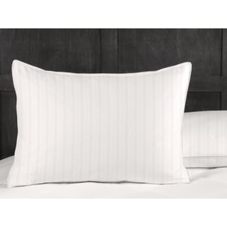 Hotel Grand 400 Thread Count Cotton Damask Down and Feather Pillow