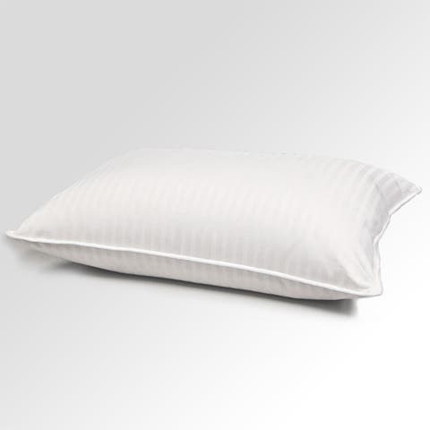 Hotel Grand 400 Thread Count Goose Down And Feather Pillow - White