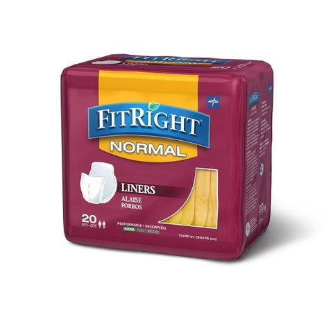 FitRight Restore 13 x 30-inch Super Liners (Case of 80)