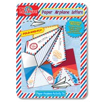 T.S. Shure Paper Letter Airplanes Tin
