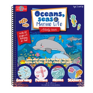 T.S. Shure Ocean, Sea and Marine Life Activity Book