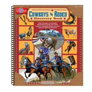 T.S. Shure Cowboys and Rodeo Discovery Activity Book