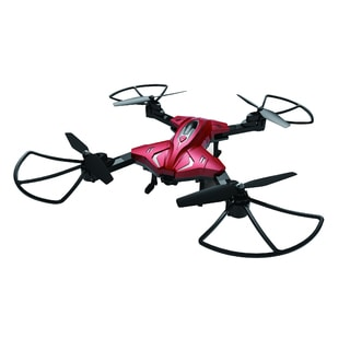 Foldable RC Drone w 0.3MP Camera and Altitude Hold