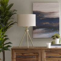 Carson Carrington Utena 2-color option Tripod Table Lamp