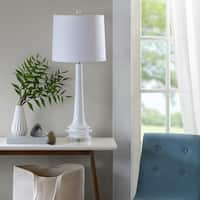 Urban Habitat Harmony White Table Lamp