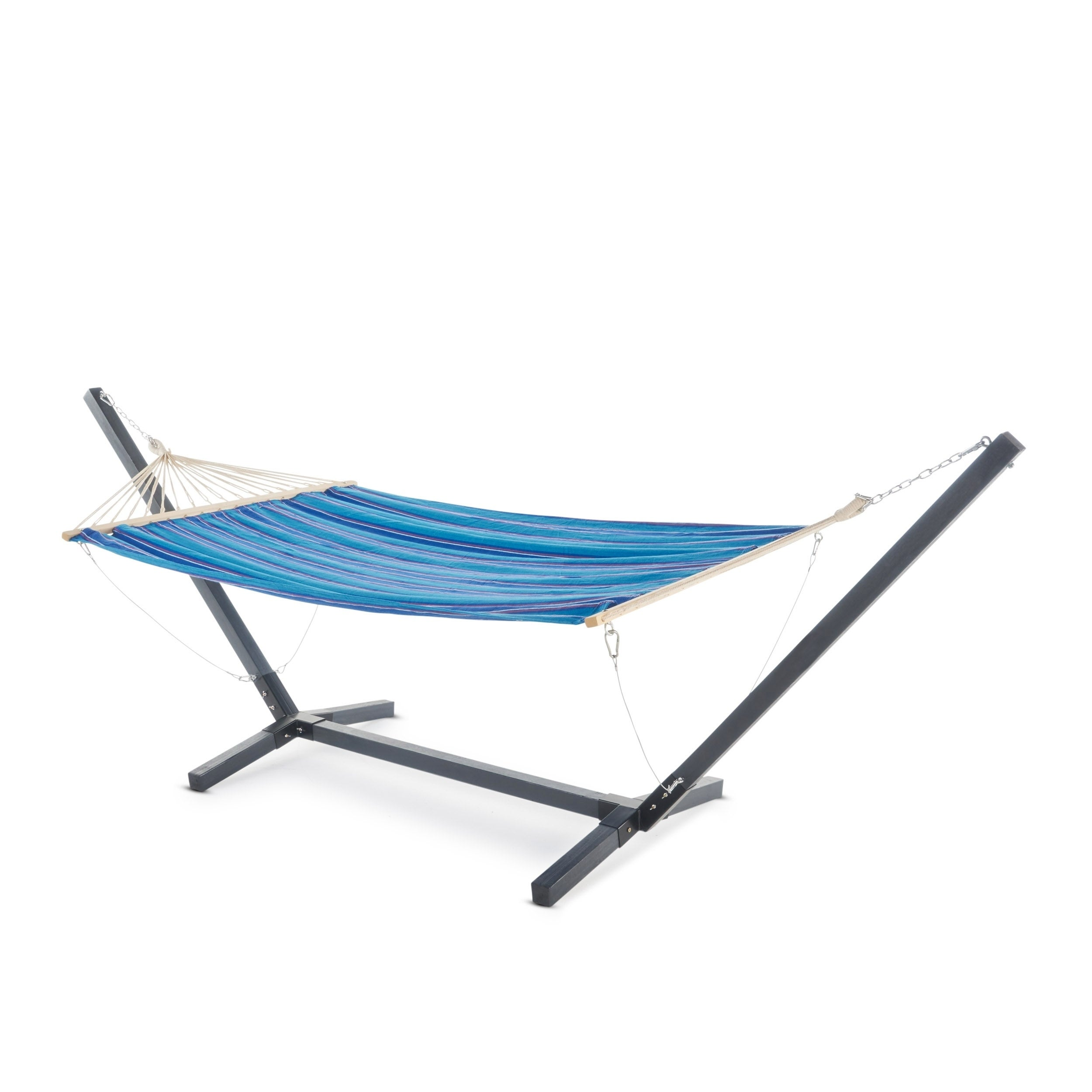 Terrific Aspen Outdoor Water Resistant Hammock With Grey Larch Wood Frame By Christopher Knight Home N A Gmtry Best Dining Table And Chair Ideas Images Gmtryco