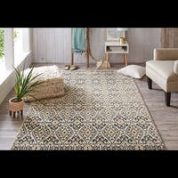 Under The Canopy Mohawk Studio Aloma Beiga Area Rug - 8' x 10'