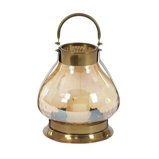 The Gray Barn Jartop Stainless Steel 14-inch Glass Lantern