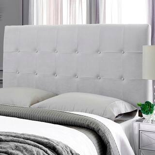Humble + Haute Stanford Suede Grey Upholstered Headboard|https://ak1.ostkcdn.com/images/products/17291783/P23541569.jpg?impolicy=medium
