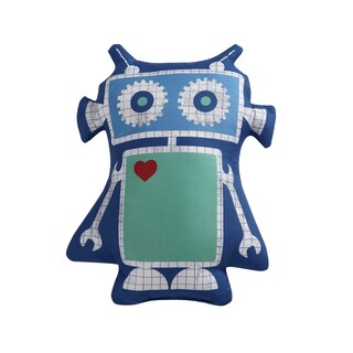 Laura Hart Kids Roboto Printed Decorative Throw Pillow