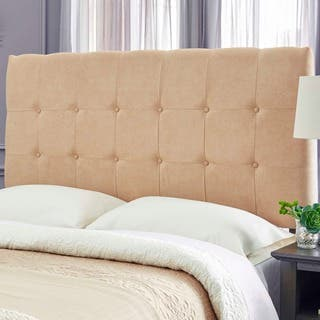 Humble + Haute Stanford Suede Khaki Upholstered Headboard|https://ak1.ostkcdn.com/images/products/17291816/P23541603.jpg?impolicy=medium