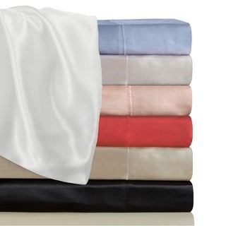Satin Radiance Luxury Satin Sheet Sets with Deep Fitting Pockets