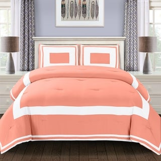Superior Grammercy All Season Down Alternative Block Pattern Comforter Set