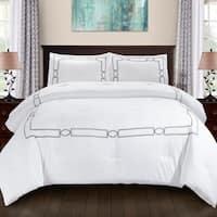 Superior Kensington All Season Down Alternative Embroidered Comforter Set