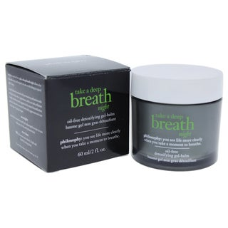 Philosophy Take a Deep Breath Night Oil-Free Detoxifying Gel Balm