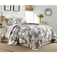 Taihiti Cotton 3 Piece Printed Quilt Set