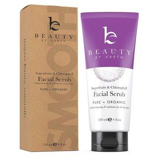 Beauty by Earth 4-ounce Facial Scrub