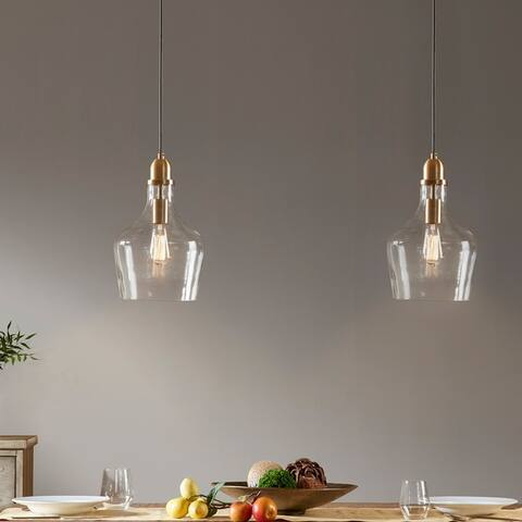 Abalone Glass Pendant Light by Madison Park