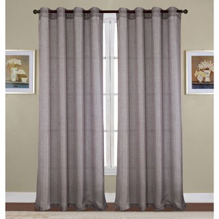 Sparkle Woven Lurex 90 Inch Grommet Curtain Panel - 54 x 90 in.