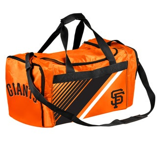 San Francisco Giants MLB Border Stripe Duffle Bag