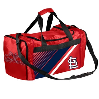 St. Louis Cardinals MLB Border Stripe Duffle Bag