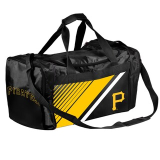 Pittsburgh Pirates MLB Border Stripe Duffle Bag