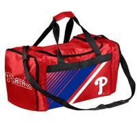 Philadelphia Phillies MLB Border Stripe Duffle Bag