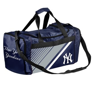 New York Yankees MLB Border Stripe Duffle Bag