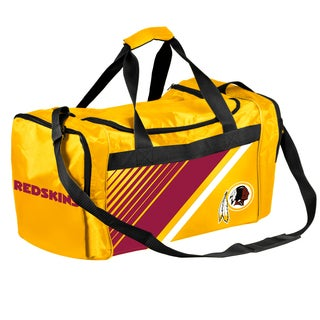 Washington Redskins NFL Border Stripe Duffle Bag