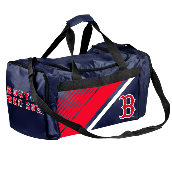 Boston Red Sox MLB Border Stripe Duffle Bag