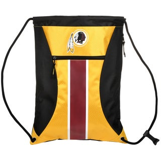 Washington Redskins NFL Big Stripe Drawstring Backpack
