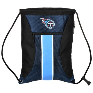 Tennessee Titans NFL Big Stripe Drawstring Backpack
