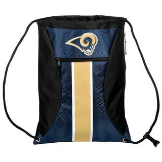 Los Angeles Rams NFL Big Stripe Drawstring Backpack|https://ak1.ostkcdn.com/images/products/17292465/P23542150.jpg?impolicy=medium