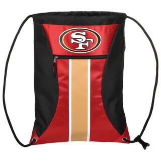 San Francisco 49ers NFL Big Stripe Drawstring Backpack